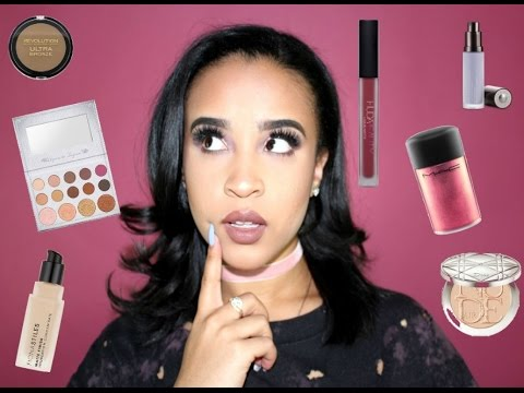 Full Face of First Impressions| Dior, Huda Beauty, MAC + More