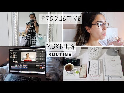 PRODUCTIVE 5AM MORNING ROUTINE | CORPORATE 9-5 JOB | GET