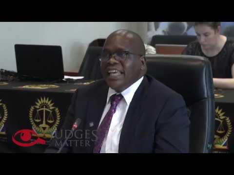 SA DJP Limpopo HC JSC Interview of Judge T P Mudau – Judges Matter (October 2019)