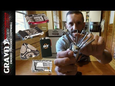 Fahrrad Multitools im Test | Crankbrothers | Lezyne | SKS | MTB Mini Werkzeug | Leo Kast