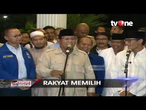 Prabowo Optimis Menang Pilpres 2019, Ramalkan Raih 63% Suara