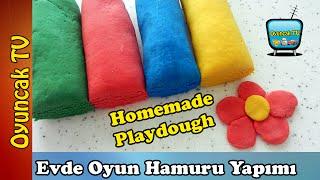 Oyun Hamuru Nasıl Yapılır? Evde Oyun Hamuru Yapımı - Homemade Playdough