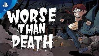 Worse Than Death - Announcement Trailer   PS4