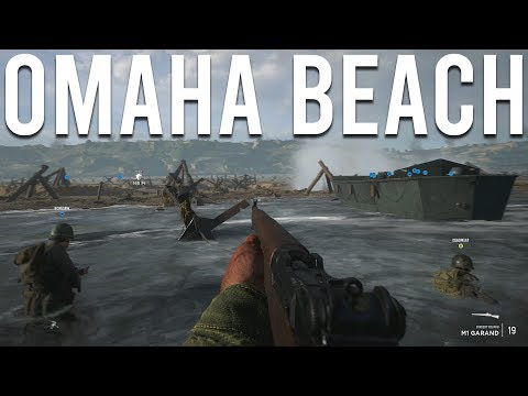 Attacking Omaha Beach in Hell let loose