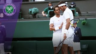 Nadal and Del Potro reflect on their epic quarter-final | Wimbledon 2018