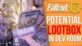 Potential Lootboxes Found in Fallout 76 Dev Room