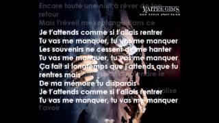 Maitre Gims - Tu vas me manquer lyrics