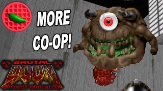CRAZED CO-OP + CONFUSION! -- Project Brutality 3.0 Test (Doom 2 Master Levels)