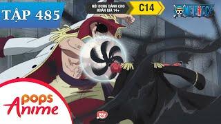 One Piece Tập 485 - Giải Quyết Ân Oán. Râu Trắng Đấu Với Băng Hải Tặc Râu Đen - Đảo Hải Tặc