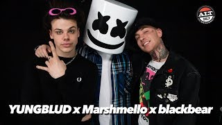 Marshmello X YUNGBLUD X Blackbear Talk Tongue Tied, How The Collaboration Came About & More
