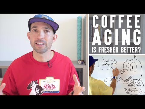 Coffee Aging, Degassing, &Fresnhess | Is Fresher Coffee Always Better | Real Chris Baca