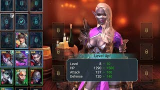RAID | Character levelling and ranking up