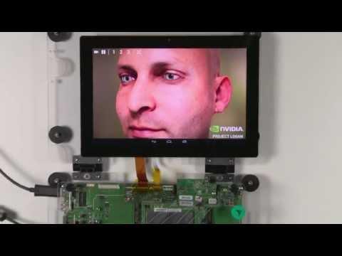 Video of NVIDIA Tegra FaceWorks Demo