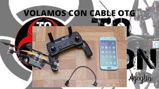 DRON DJI SPARK 2020 (ESPAÑA OFICIAL) CABLE OTG MODO PUERTO DEL CABO DE LAS HUERTAS Y ALBUFERE