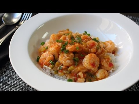 Shrimp Etouffee Recipe – Spicy Creole/Cajun Shrimp Sauce on Rice – Frozen Shrimp Tips