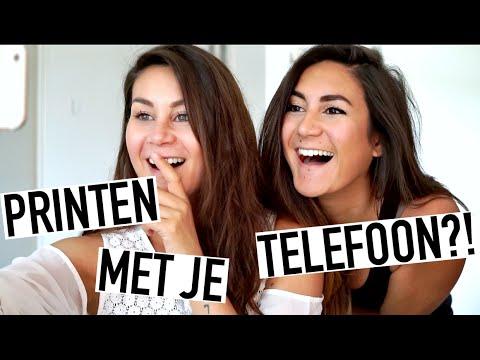 PRINTEN MET JE TELEFOON?! - Gadget Review!