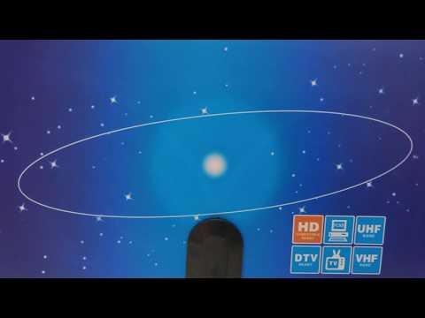 ⭕ Digital Indoor TV Antenna for HDTV - 35dBi DVB-T
