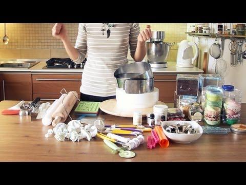 Decorazione torte: gli attrezzi di cui avete bisogno!