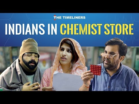 Indians in a Chemist/Medical store