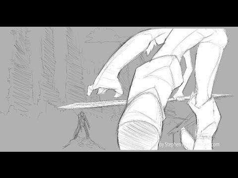 2D Animation test done completely in Photoshop (tutorial coming soon)