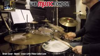 Queen - Crazy Little Thing Called Love - DRUM COVER