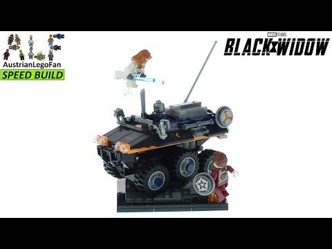 Vidéo LEGO Marvel 77905 : L'embuscade du Maître de corvée