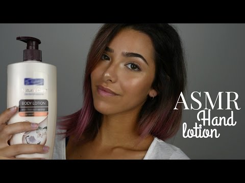 ASMR Lotion sounds (Hands, Arms)
