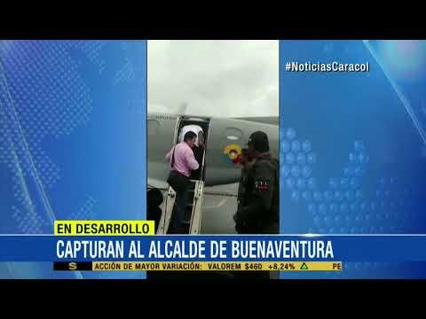 Por presunta corrupcion, capturan a alcalde de Buenaventura, Valle