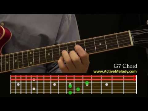 How To Play a G7 Chord On The Guitar