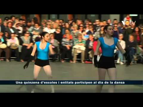 Noticia a VOTV sobre el Dia de la Dansa 2015 a Granollers.