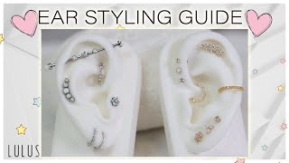 Ear Styling Guide With Johnny Gold VS Silver + Industrial Jewelry! ❤️