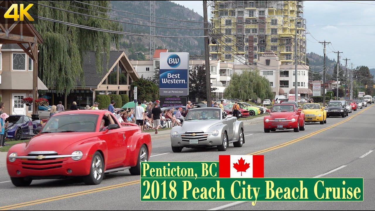 2018 Penticton Peach City Beach Cruise – Beach to Peach Parade