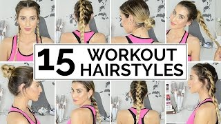15 Easy Workout Hairstyles