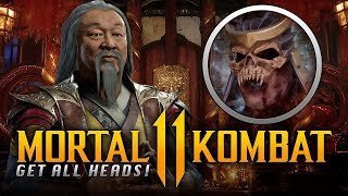 MORTAL KOMBAT 11 - Unlock ALL Character Heads & Shang Tsung's Throne Room INSTANTLY in The Krypt!