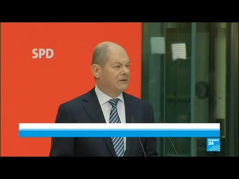 Germany Coalition Talks: SPD acting chairman Olaf Scholz shares vote results