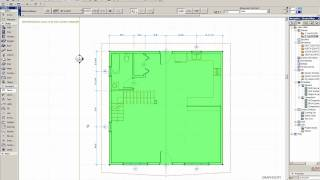 Using the Dimension Tool in ArchiCAD