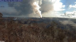 24/7 Kilauea Live 🌋USGS Hawaii Kilauea Volcano Eruption USGS Cams & Live Earthquake Map