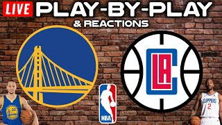 Warriors vs Clippers   Live Play-By-Play & Reactions