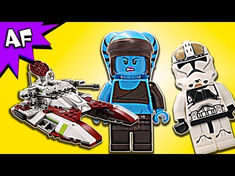Vidéo LEGO Star Wars 75182 : Republic Fighter Tank