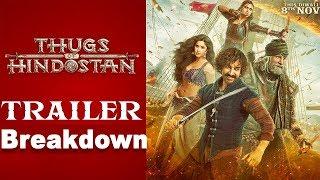 Thugs Of Hindostan Trailer Breakdown | Amitabh Bachchan | Aamir Khan | Katrina Kaif | Fatima