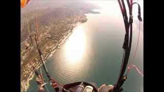 4 flights above lake Garda