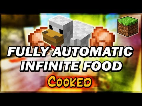 Automatic Infinite Cooked Food (Chicken Farm Cooker)