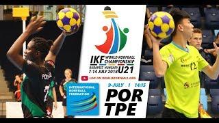 IKF U21 WKC 2018 POR-TPE