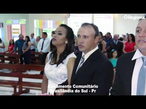 IGREJA CATÓLICA REALIZA CASAMENTO COLETIVO EM BRASILÂNDIA DO SUL