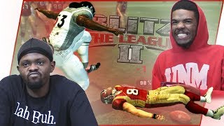 *Old School Subscriber Team* The CRAZIEST Game You'll Ever See! - Blitz The League II