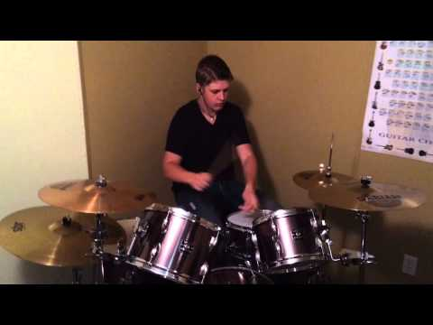 Oxygen- Lincoln Brewster Drum Cover