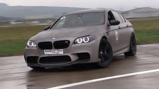840HP BMW M5 F10 w/ Straight Pipes - LOUD Revs, Drifting, Flames!