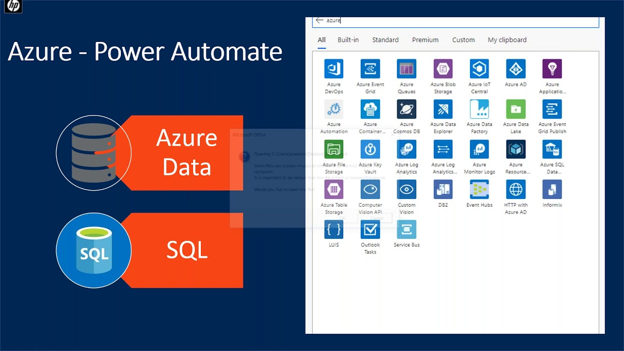 Integrate Azure Data with Power Platform