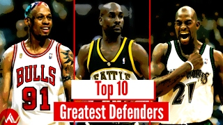 Top 10 NBA Defenders Of All Time (Viewer Vote!)