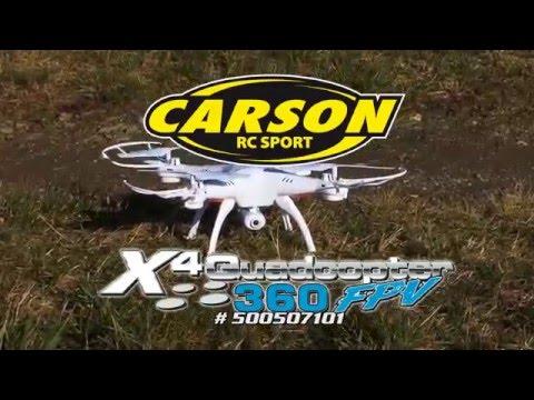 X4 Quadcopter 360 FPV WIFI 100% RTF (500507101) EN